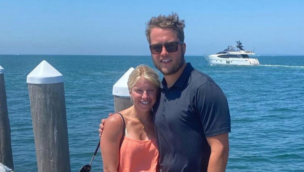 Matthew Stafford's Wife Issues Statement About How His False Positive COVID-19 Test Caused Their Family a Slew of Issues