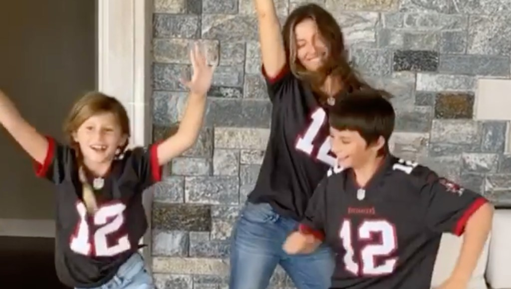 Gisele Bundchen and Kids Get Cheery For Tom Brady as He Gets First Win as a Buccaneer