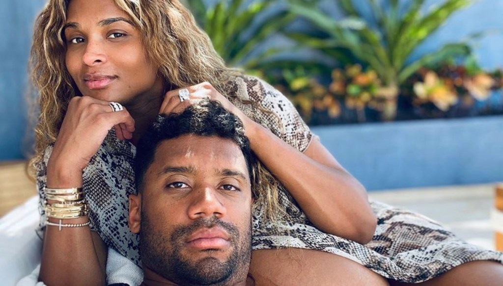 Ciara Says Russell Wilson Helped Deliver Their Son Win