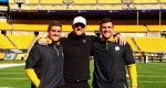 JJ, TJ, and Derek Watt Take Photo Prior to Steelers-Texans Game, And Wow Their Parents Must Be Proud