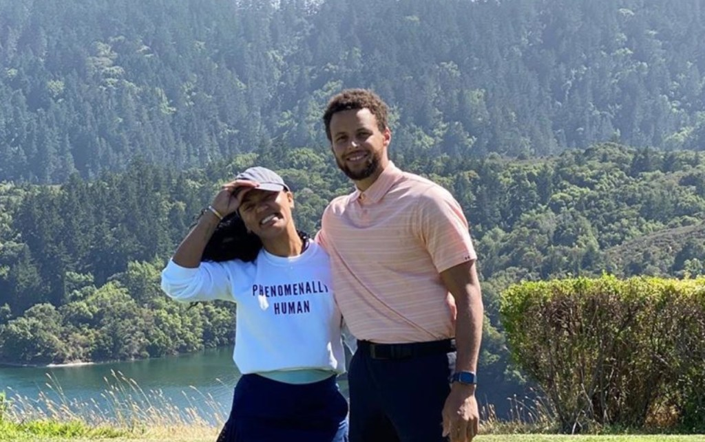 Home Schooling With The Curry's? Ayesha Says It's Steph's 'Strong Suit' After He Slept Through Diaper Changes