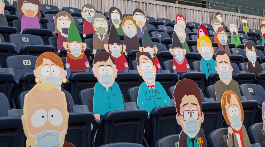 Denver Broncos Host 'South Park' Cardboard Cutouts and Raising Money for Charity