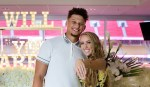 Patrick Mahomes Opens Up About Being a Father for the First Time