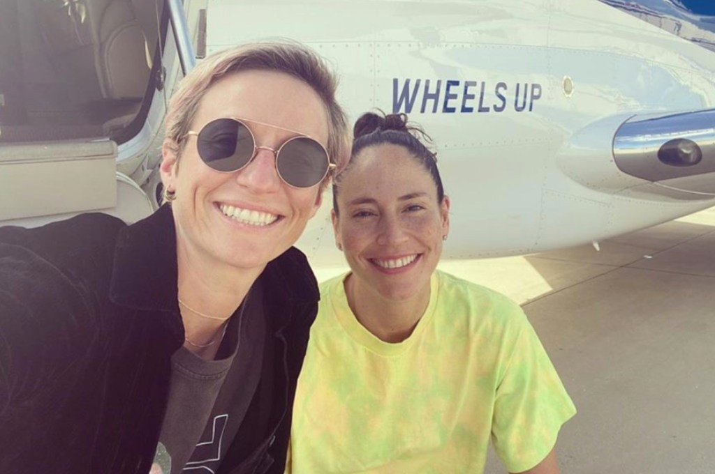 WNBA Champion Sue Bird and Soccer Star Megan Rapinoe Are Saying 'Yes' to Forever