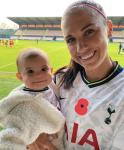 Alex Morgan Celebrates 'Milestone' Tottenham Hotspur Debut Across The Pond With Infant Daughter