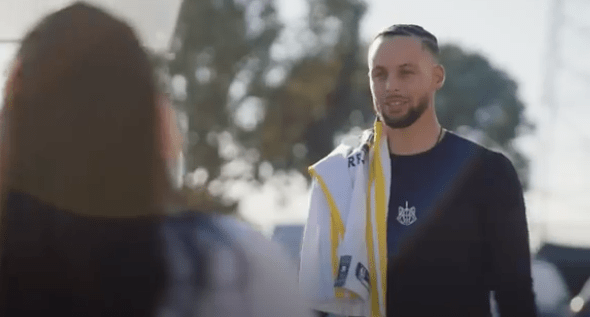 Stephen Curry Gives $10,000, A Truck, And Signed Jersey To Oakland Non-Profit Workers Who Distribute Food To Those In Need During COVID-19 Pandemic