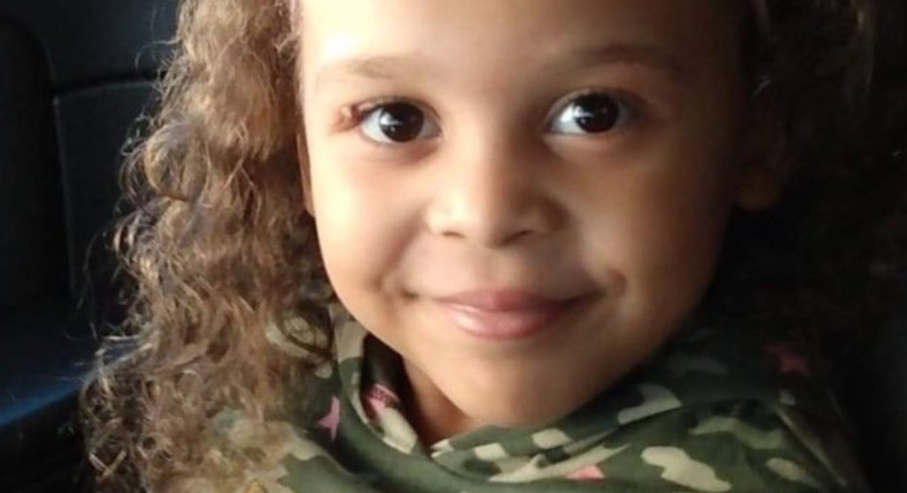 The child fighting for her life following the crash is 5-year-old Ariel.