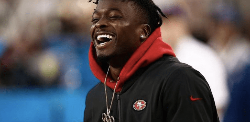 Marquise Goodwin Motivates You To Not Let Negative Moments Ruin Your Day!