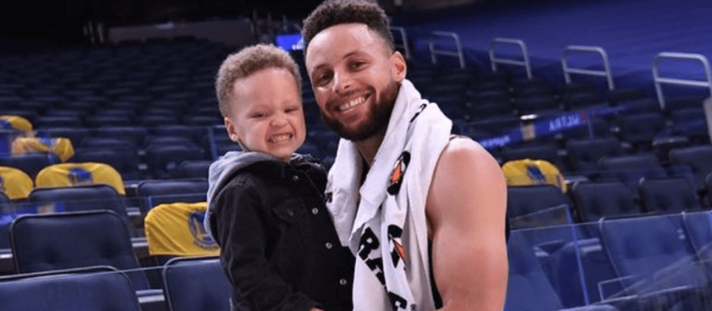 'BABY SHOOTAH 💪🏾❤️❤️': Find Out What Sport Steph And Ayesha Curry's Son Is Already Playing And What Sport He Thought His Dad Played Last Year