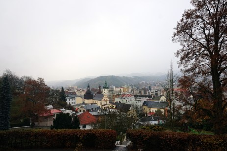 View over Náchod