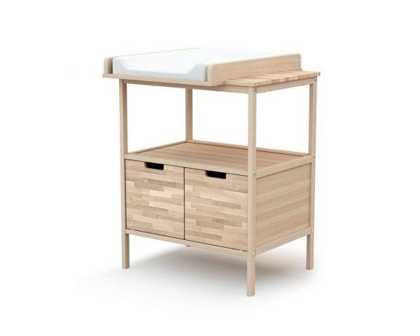 meuble a langer essentiel hetre brut