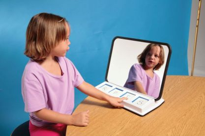 speech therapy mirror