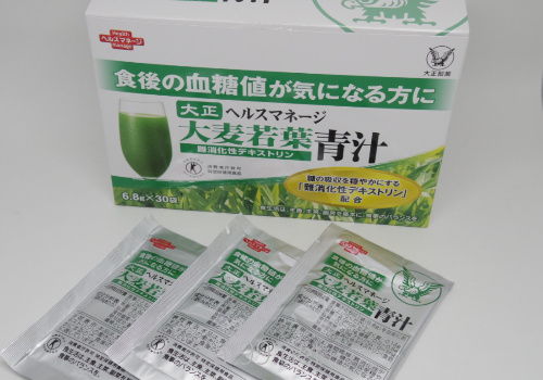 大正ヘルスマネージ大麦若葉青汁難消化性デキストリン