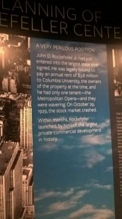 RockyFeller tarihçesini anlatan koridordaki resimler