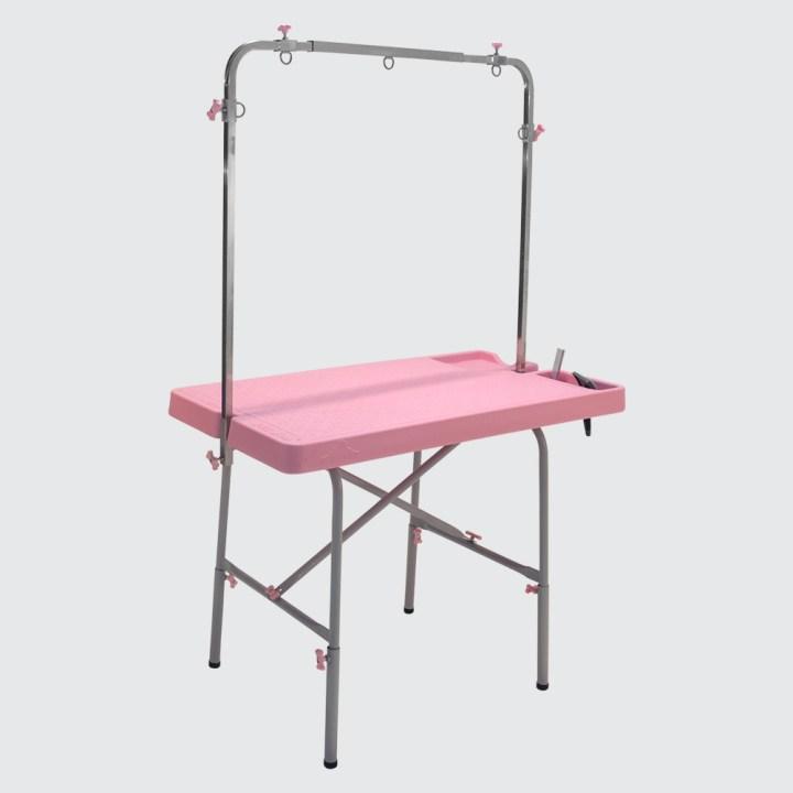 mesa-de-tosa-para-pet-shop-rosa