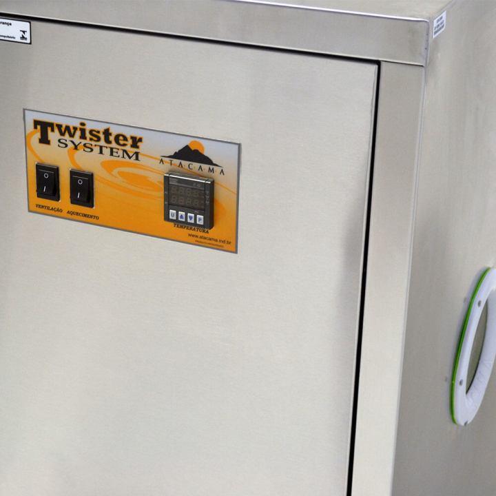 maquina secar cachorro twister system atacama painel controle
