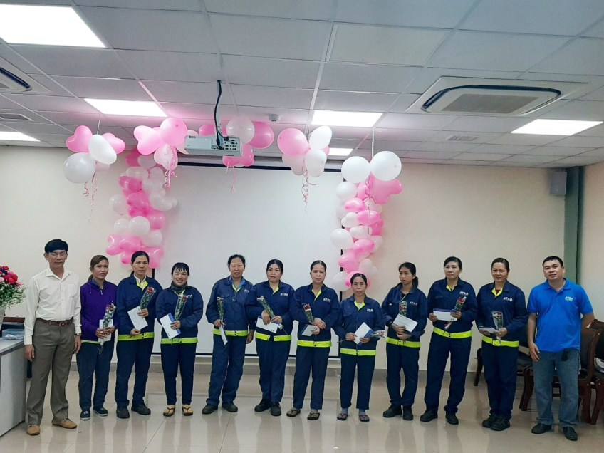 Happy International Women Day at ATAD Factory 2