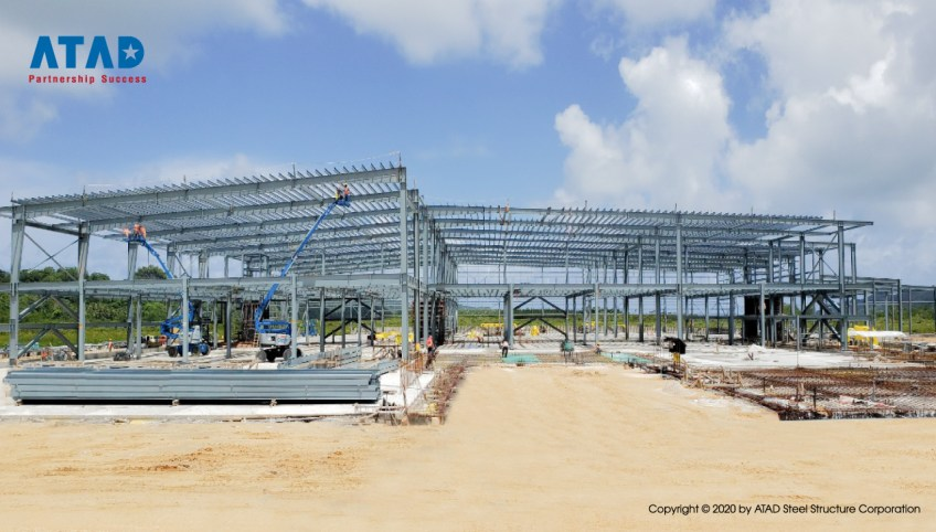 ATAD implemented the biggest shopping mall project in Palau 2