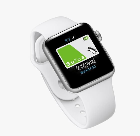 Apple Watch Suica
