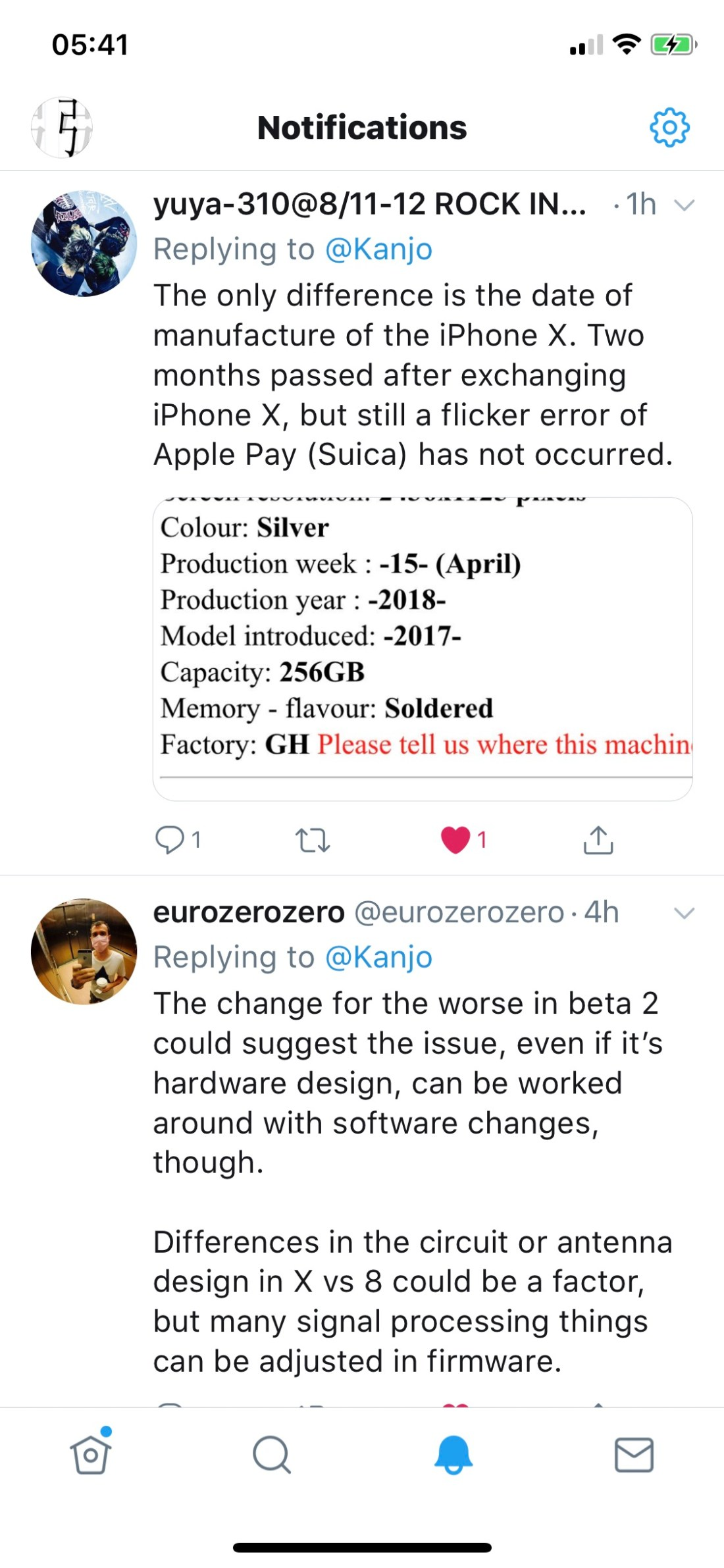 Revision B iPhone X Theory