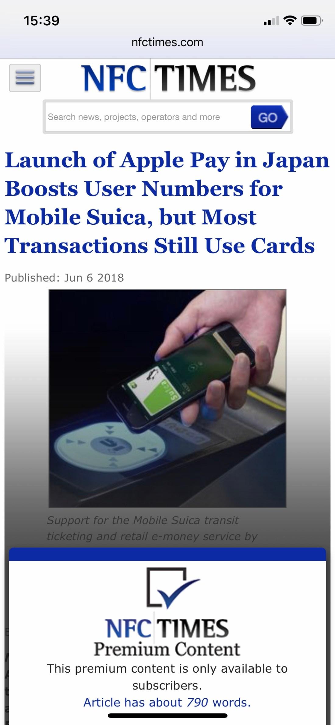 NFC TIMES Headline