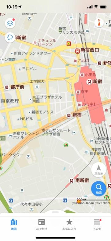 Yahoo Japan Maps