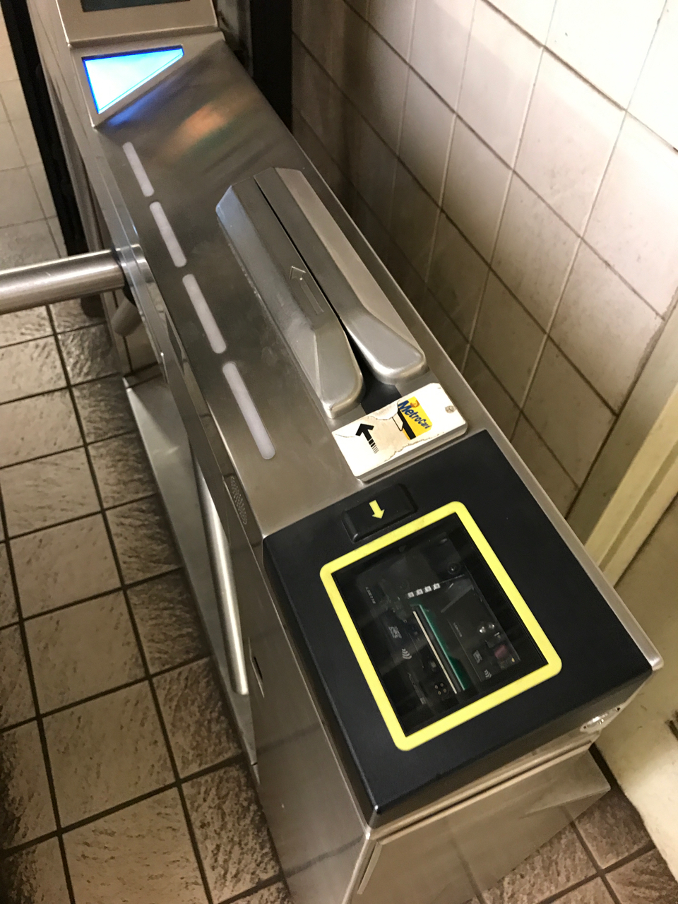 New York Subway Contactless Gate