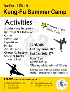 Atado Summer Camp Ad - 2015