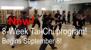 Shifu Victor guides the Tai Chi group in the new Atado KungFu Studio