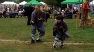 Shifu Justin & Kai demonstrating Long Boxing