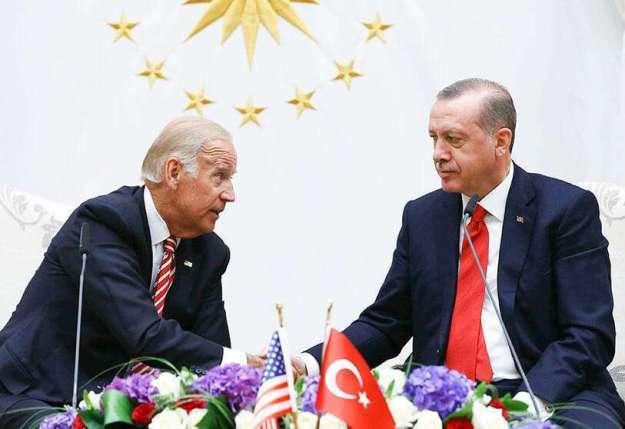 """Las críticas de Joe Biden a Erdogan provocan la ira de Turquía, que acusa  al candidato demócrata de """"intervencionista"""""""