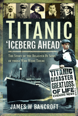 Titanic Iceberg Ahead Book cover