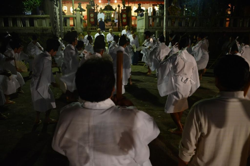 夜鹿島踊り