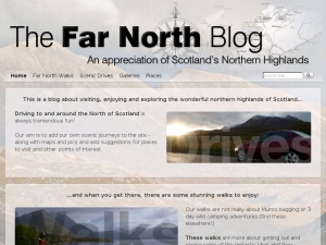 The Far North Blog A blog about the Northern Highlands