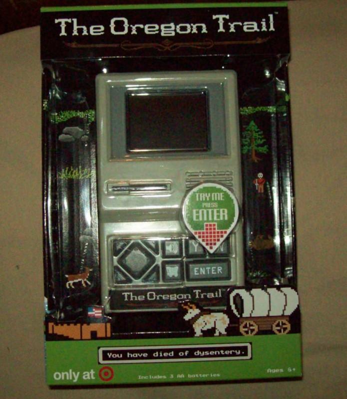The Oregon Trail Handheld Game Classic Gaming General
