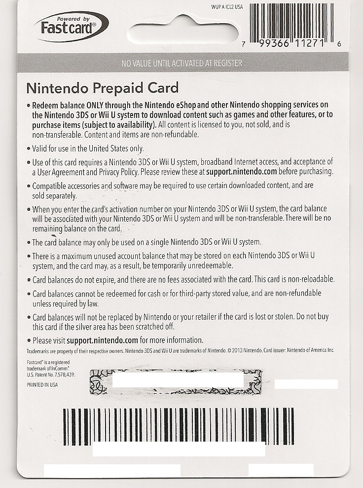 There is no such interest free credit period if you use your credit card to withdraw cash. **SOLD** $20 Nintendo eShop Code for $20 PayPal - Buy ...