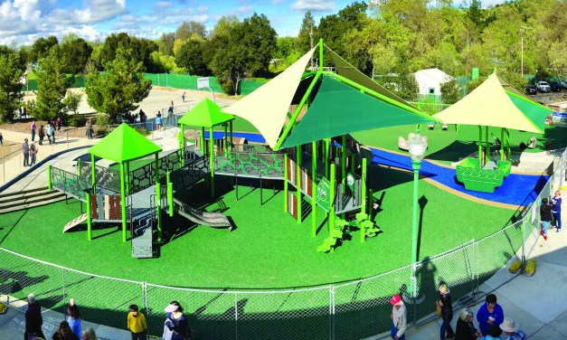 Clickard and Joy Playground Honored