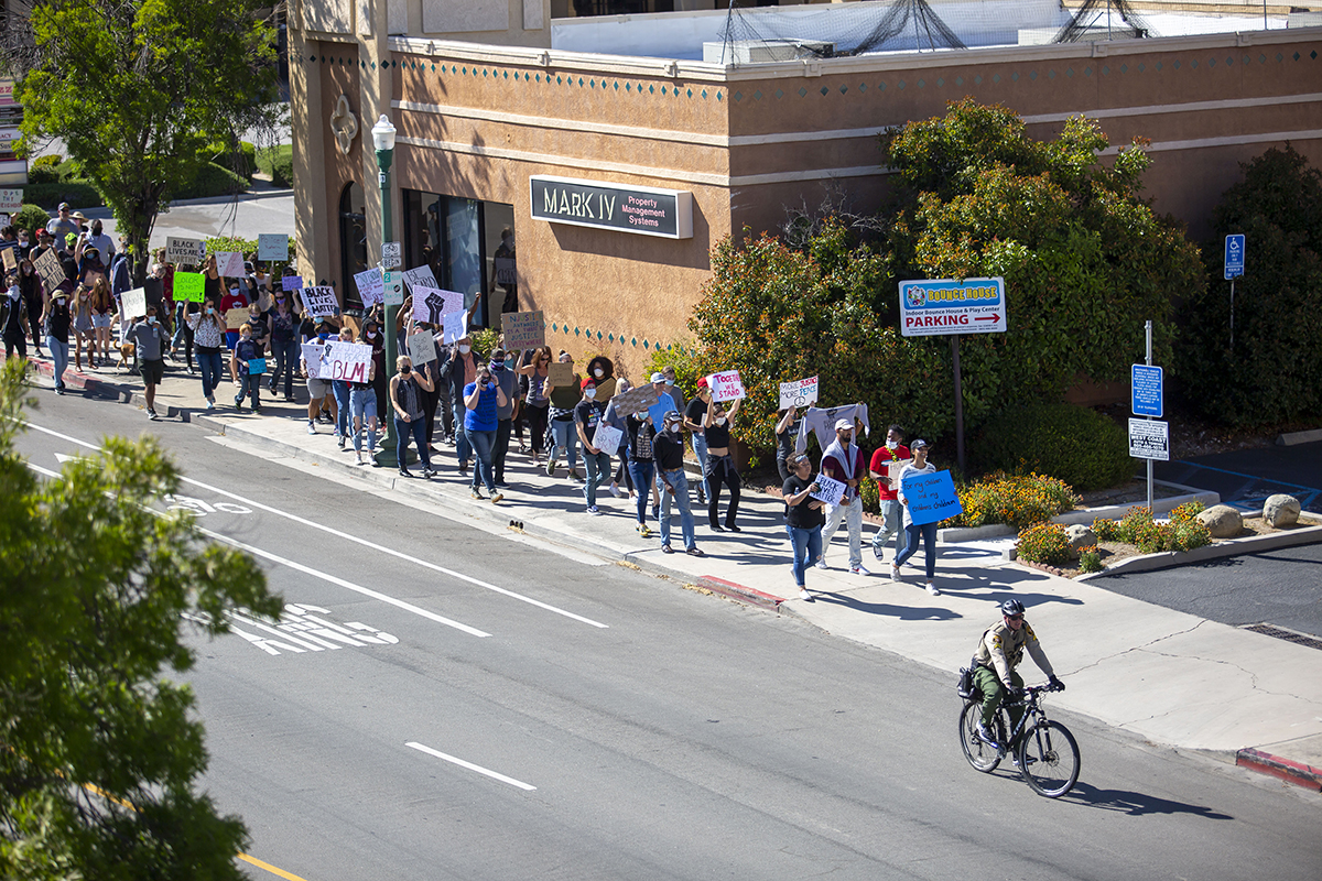 2020 Downtown Atascadero Protest NAACP