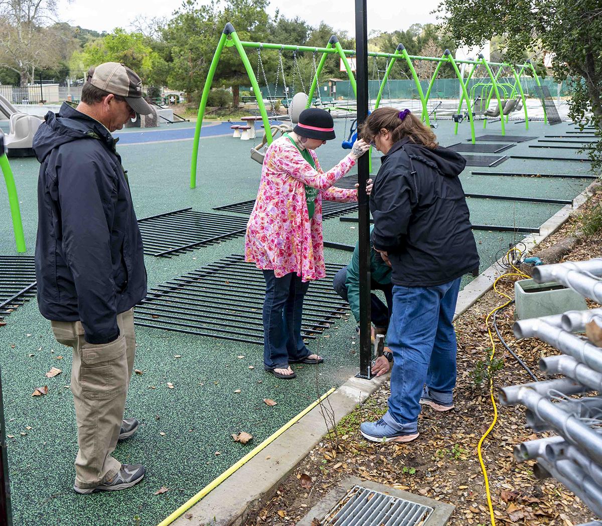 2020 Joy Playground Fence
