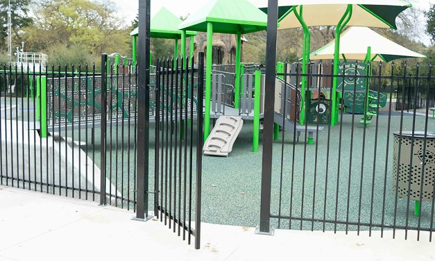 Joy Playground Fence Completed