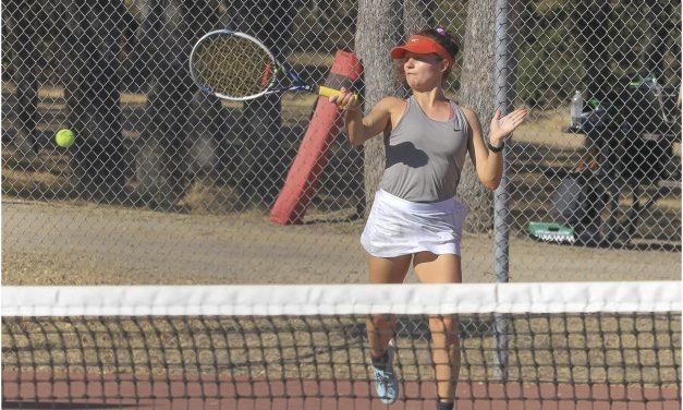 Greyhounds Girls Tennis Advances to Div. 2 Semifinals