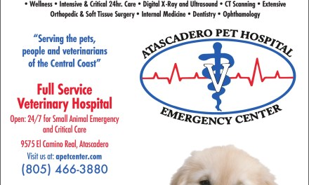 Atascadero Pet Hospital Open for You