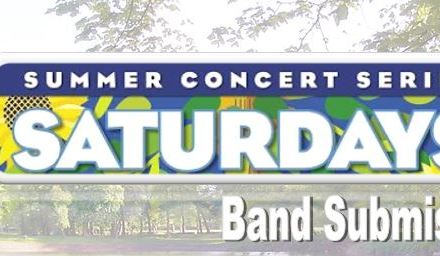 """Saturday in the Park"" Summer Concert Series Band Submissions Open!"