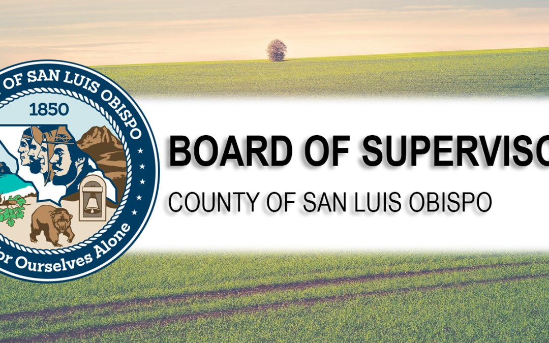 County Board of Supervisors Upcoming Meeting, Mar. 2