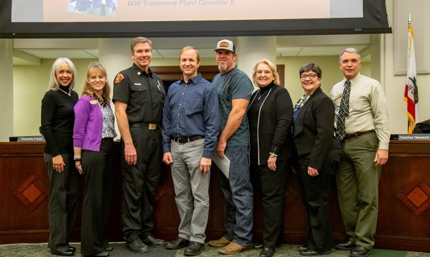 City Recognizes Three Long-Time Employees