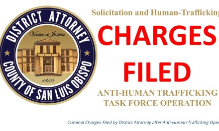 Atascadero Man Charged for Solicitation in Anti-Human Trafficking Operation