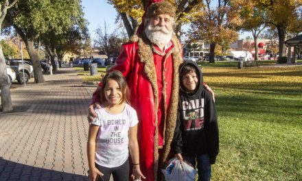 Santa Brings Christmas Cheer to Paso Robles Holiday House
