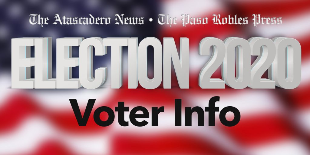Election 2020 Voter Info