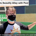 Local Artists Beautify Alley Behind Whiskey & June
