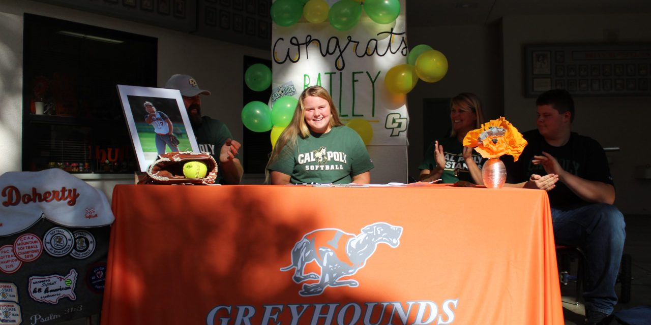 Bailey Doherty Signs with Cal Poly
